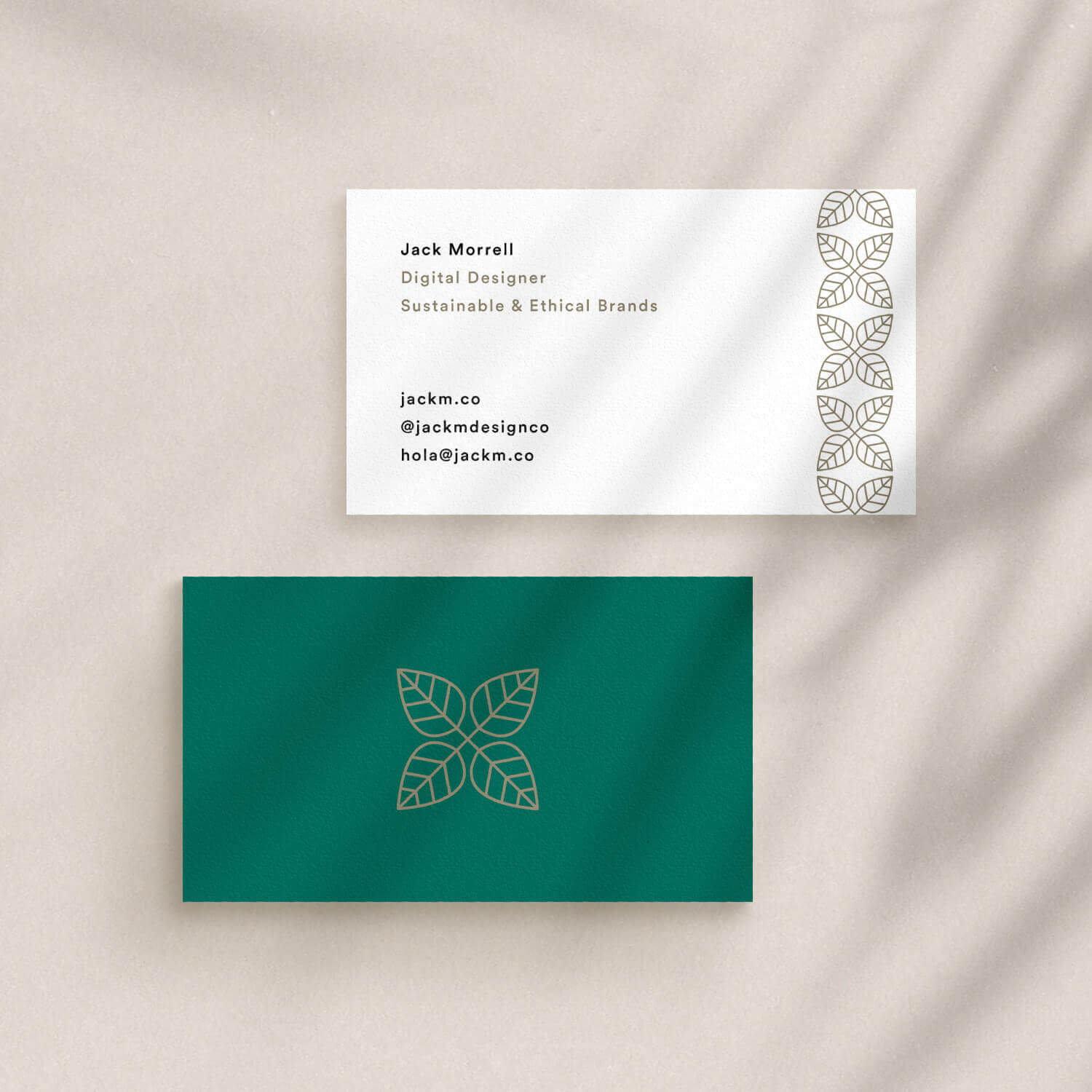 Business Card Mockup INSTA