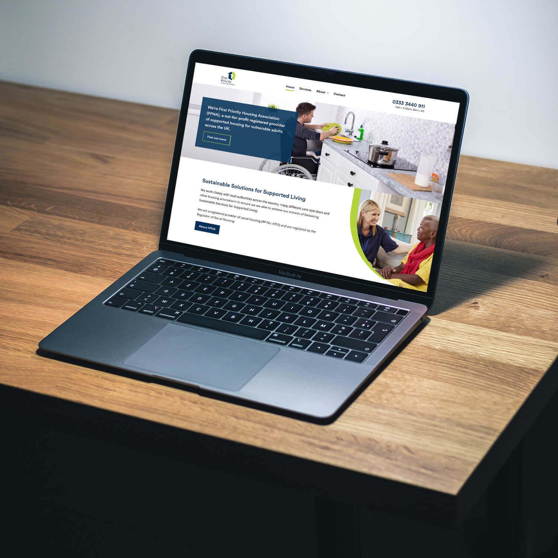 First Priority Housing Association Website Design